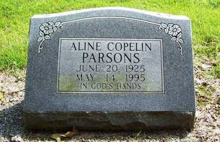 COPELIN PARSONS, ALINE - Benton County, Arkansas | ALINE COPELIN PARSONS - Arkansas Gravestone Photos