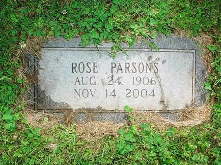 PARSONS, ROSE - Benton County, Arkansas | ROSE PARSONS - Arkansas Gravestone Photos