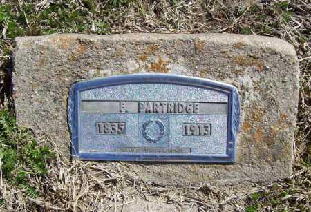 PARTRIDGE, FREDERICK - Benton County, Arkansas | FREDERICK PARTRIDGE - Arkansas Gravestone Photos