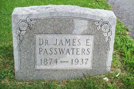 PASSWATERS, DR. JAMES E. - Benton County, Arkansas | DR. JAMES E. PASSWATERS - Arkansas Gravestone Photos