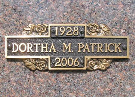 "PATRICK, DORTHA M ""HEPSEY"" - Benton County, Arkansas | DORTHA M ""HEPSEY"" PATRICK - Arkansas Gravestone Photos"