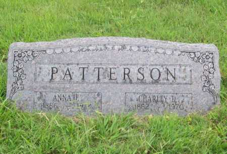 PATTERSON, CHARLEY L. - Benton County, Arkansas | CHARLEY L. PATTERSON - Arkansas Gravestone Photos
