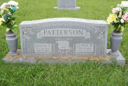 PATTERSON, FAYTEMA L. - Benton County, Arkansas | FAYTEMA L. PATTERSON - Arkansas Gravestone Photos