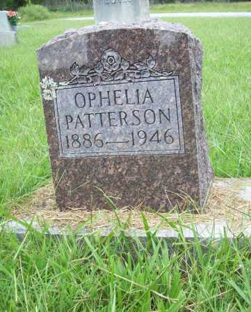PATTERSON, OPHELIA - Benton County, Arkansas | OPHELIA PATTERSON - Arkansas Gravestone Photos