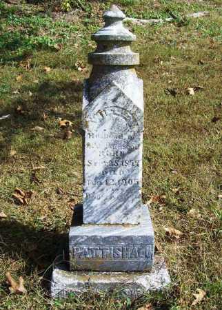 PATTISHALL, WILLIE - Benton County, Arkansas | WILLIE PATTISHALL - Arkansas Gravestone Photos