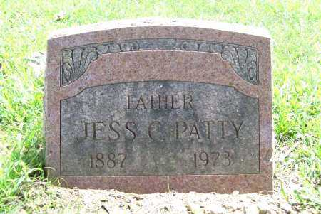 PATTY, JESS C. - Benton County, Arkansas | JESS C. PATTY - Arkansas Gravestone Photos