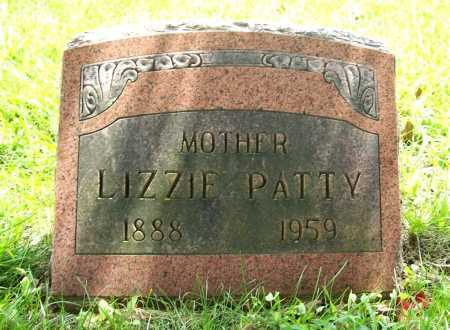 PATTY, LIZZIE - Benton County, Arkansas | LIZZIE PATTY - Arkansas Gravestone Photos