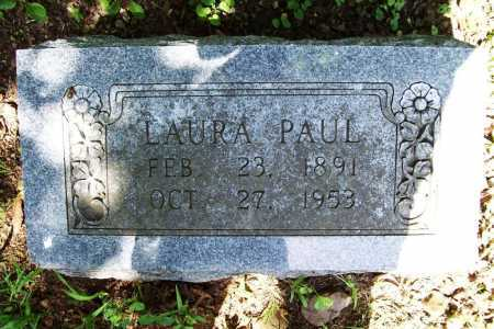 PAUL, LAURA - Benton County, Arkansas | LAURA PAUL - Arkansas Gravestone Photos