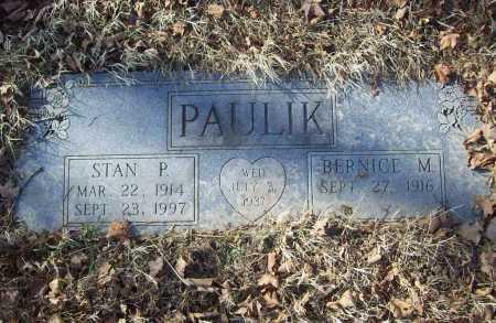 PAULIK, STANLEY  P. - Benton County, Arkansas | STANLEY  P. PAULIK - Arkansas Gravestone Photos