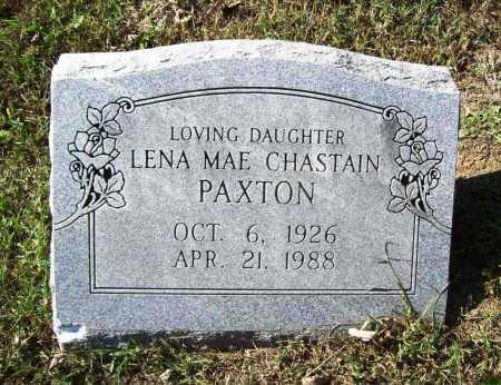 CHASTAIN PAXTON, LENA MAE - Benton County, Arkansas | LENA MAE CHASTAIN PAXTON - Arkansas Gravestone Photos
