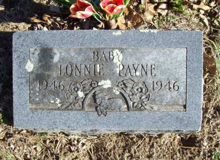 PAYNE, LONNIE - Benton County, Arkansas | LONNIE PAYNE - Arkansas Gravestone Photos