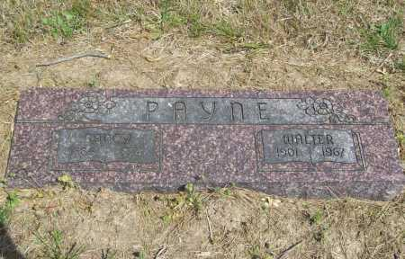 PAYNE, WALTER - Benton County, Arkansas | WALTER PAYNE - Arkansas Gravestone Photos