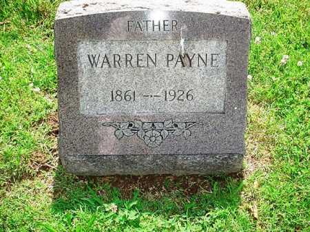 PAYNE, WARREN - Benton County, Arkansas | WARREN PAYNE - Arkansas Gravestone Photos