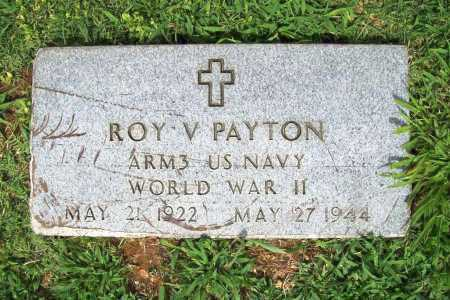 PAYTON (VETERAN WWII), ROY V. - Benton County, Arkansas | ROY V. PAYTON (VETERAN WWII) - Arkansas Gravestone Photos