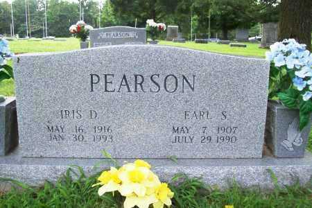 PEARSON, IRIS D. - Benton County, Arkansas | IRIS D. PEARSON - Arkansas Gravestone Photos