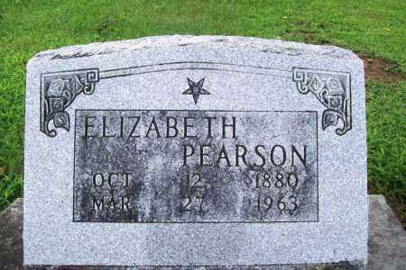 PEARSON, ELIZABETH - Benton County, Arkansas | ELIZABETH PEARSON - Arkansas Gravestone Photos