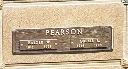 PEARSON, LOUISE R. - Benton County, Arkansas | LOUISE R. PEARSON - Arkansas Gravestone Photos