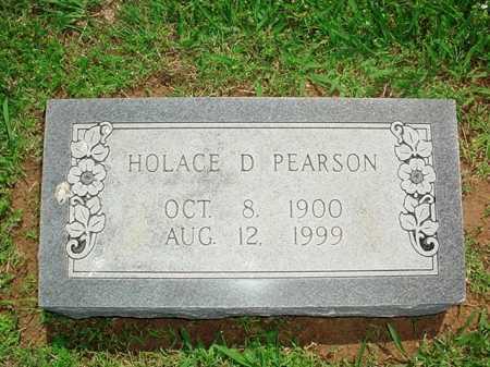 PEARSON, HOLACE D. - Benton County, Arkansas | HOLACE D. PEARSON - Arkansas Gravestone Photos