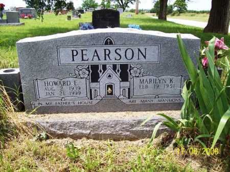 PEARSON, HOWARD E. - Benton County, Arkansas | HOWARD E. PEARSON - Arkansas Gravestone Photos