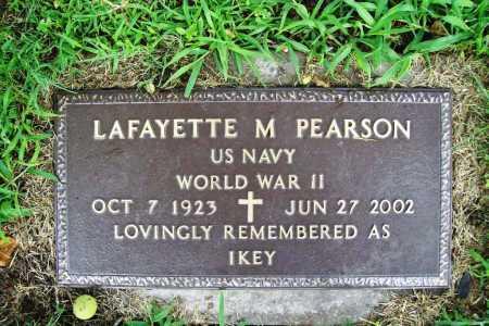 PEARSON (VETERAN WWII), LAFAYETTE M. - Benton County, Arkansas | LAFAYETTE M. PEARSON (VETERAN WWII) - Arkansas Gravestone Photos