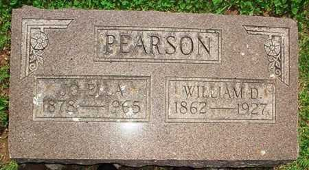 PEARSON, WILLIAM D. - Benton County, Arkansas | WILLIAM D. PEARSON - Arkansas Gravestone Photos