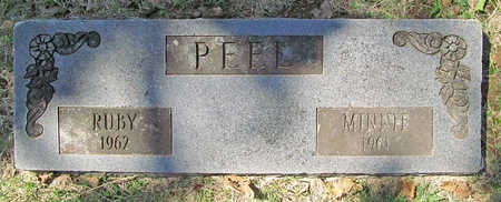 PEEL, RUBY - Benton County, Arkansas | RUBY PEEL - Arkansas Gravestone Photos