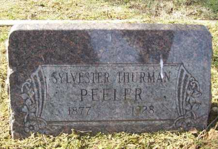 PEELER, SYLVESTER THURMAN - Benton County, Arkansas | SYLVESTER THURMAN PEELER - Arkansas Gravestone Photos