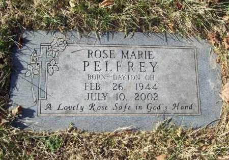 PELFREY, ROSE MARIE - Benton County, Arkansas | ROSE MARIE PELFREY - Arkansas Gravestone Photos