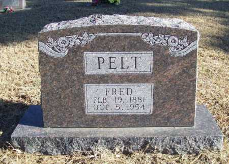 PELT, FRED - Benton County, Arkansas | FRED PELT - Arkansas Gravestone Photos