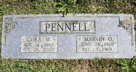 PENNELL, MARVIN O. - Benton County, Arkansas | MARVIN O. PENNELL - Arkansas Gravestone Photos