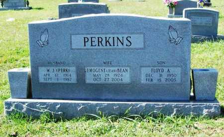 "BEAN PERKINS, EMOGENE ""JEAN"" - Benton County, Arkansas 