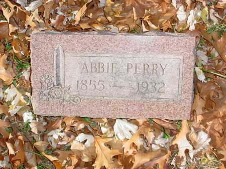 "PERRY, ABIGAIL ""ABBIE"" - Benton County, Arkansas 