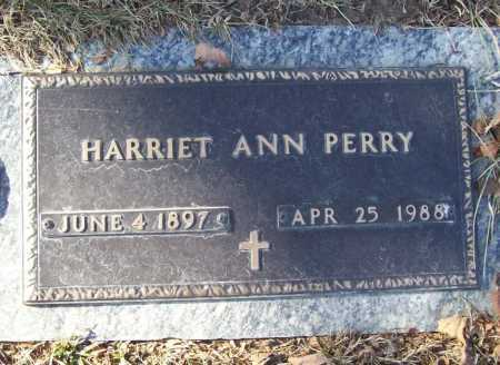 PERRY, HARRIET ANN - Benton County, Arkansas | HARRIET ANN PERRY - Arkansas Gravestone Photos