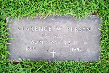 PERSYN (VETERAN 2 WARS), CLARENCE W. - Benton County, Arkansas | CLARENCE W. PERSYN (VETERAN 2 WARS) - Arkansas Gravestone Photos