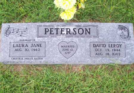PETERSON, DAVID LEROY - Benton County, Arkansas | DAVID LEROY PETERSON - Arkansas Gravestone Photos