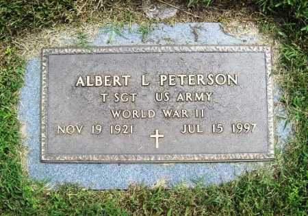 PETERSON (VETERAN WWII), ALBERT L - Benton County, Arkansas | ALBERT L PETERSON (VETERAN WWII) - Arkansas Gravestone Photos