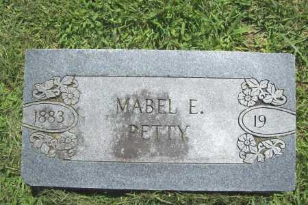PETTY, MABEL E. - Benton County, Arkansas | MABEL E. PETTY - Arkansas Gravestone Photos