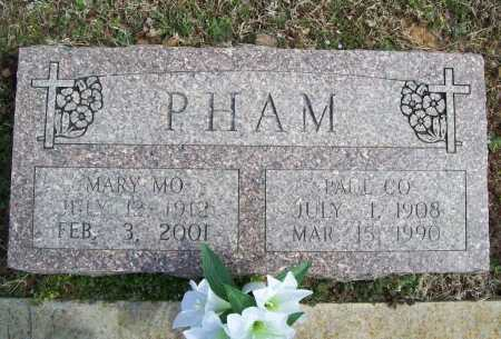 PHAM, PAUL CO - Benton County, Arkansas | PAUL CO PHAM - Arkansas Gravestone Photos