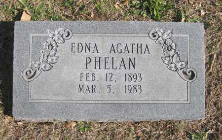 PHELAN, EDNA AGATHA - Benton County, Arkansas | EDNA AGATHA PHELAN - Arkansas Gravestone Photos