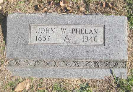 PHELAN, JOHN W. - Benton County, Arkansas | JOHN W. PHELAN - Arkansas Gravestone Photos