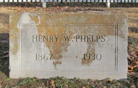 PHELPS, HENRY W. - Benton County, Arkansas | HENRY W. PHELPS - Arkansas Gravestone Photos