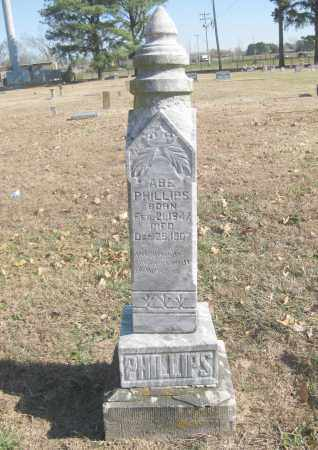 PHILLIPS, ABE - Benton County, Arkansas | ABE PHILLIPS - Arkansas Gravestone Photos