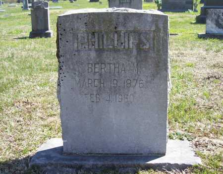 PHILLIPS, BERTHA M. - Benton County, Arkansas | BERTHA M. PHILLIPS - Arkansas Gravestone Photos