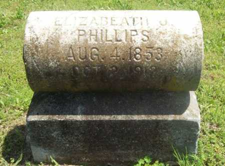 PHILLIPS, ELIZABETH J. - Benton County, Arkansas | ELIZABETH J. PHILLIPS - Arkansas Gravestone Photos