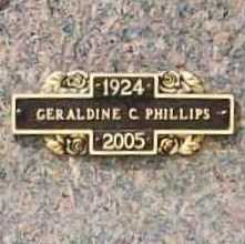FINN PHILLIPS, GERALDINE C. - Benton County, Arkansas | GERALDINE C. FINN PHILLIPS - Arkansas Gravestone Photos