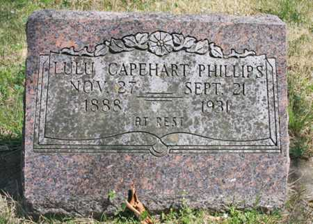 CAPEHART PHILLIPS, LULU - Benton County, Arkansas | LULU CAPEHART PHILLIPS - Arkansas Gravestone Photos
