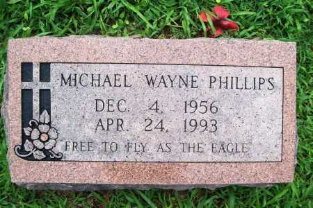 PHILLIPS, MICHAEL WAYNE - Benton County, Arkansas | MICHAEL WAYNE PHILLIPS - Arkansas Gravestone Photos