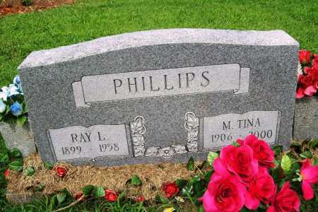 PHILLIPS, RAY L. - Benton County, Arkansas | RAY L. PHILLIPS - Arkansas Gravestone Photos