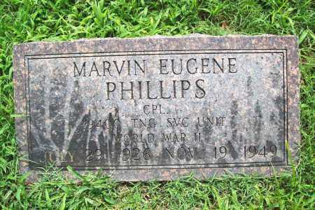 PHILLIPS (VETERAN WWII), MARVIN EUGENE - Benton County, Arkansas | MARVIN EUGENE PHILLIPS (VETERAN WWII) - Arkansas Gravestone Photos
