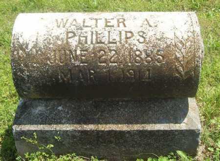 PHILLIPS, WALTER A. - Benton County, Arkansas | WALTER A. PHILLIPS - Arkansas Gravestone Photos